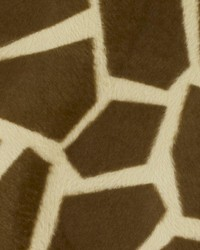 Gold Animal Print Faux Fur Fabric  DU15870 67 BRONZE