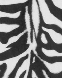 White Animal Print Faux Fur Fabric  DU15875 295 BLACK/WHITE