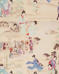 Kimono Toile Turquoise Jewel by