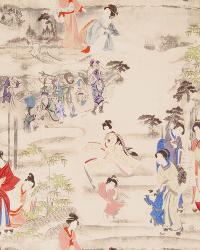 Kimono Toile Terra Cotta by