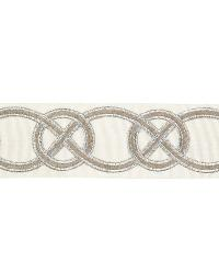 Celtic Knot Metallic Silver by  Vervain Trim