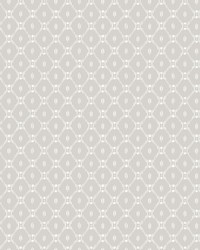 Fretwork Wallpaper Grey by