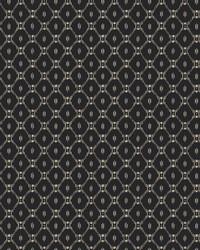 Fretwork Wallpaper Black by
