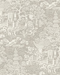 Chinoiserie Wallpaper Beige by