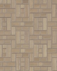 Teahouse Panel Wallpaper Grey by