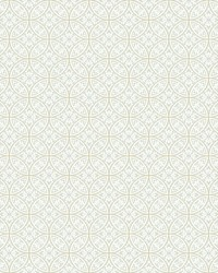 Lacey Circle Geo Wallpaper Cream Gray by