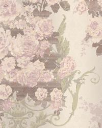 Bouquet Damask 64 Lt Grey Lavender AR7705 by