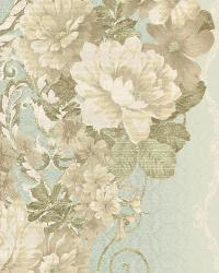 Floral Stripe 1 Seafoam Cream AR7716 by