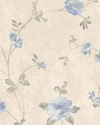 Floral Vine 37 Grey Blue AR7726 by