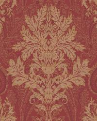 Damask Paisley 53 Red Gold AR7735 by
