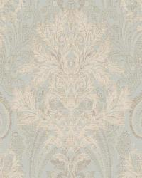 Damask Paisley 71 Soft Green Beige AR7736 by