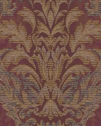 Ombre Damask Stripe 42 Burgundy AR7754 by