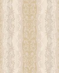 Damask Stripe 4 Cream Lt Grey AR7780 by