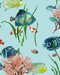Tropical Reef Wallpaper AT7003 by