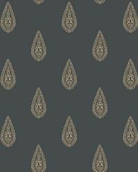 Luxury Teardrop Wallpaper black  beige  gold  by