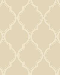 Luxury Trellis Wallpaper beige  cream by