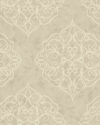 Rose Window Wallpaper greys  white by