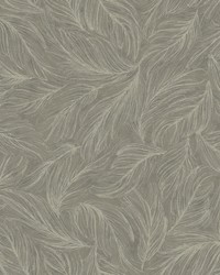 Light As A Feather Wallpaper greys  metallic silver by