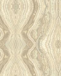 Kaleidoscope Wallpaper light greys  beige  cream by