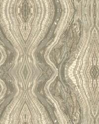 Kaleidoscope Wallpaper greys  cream by