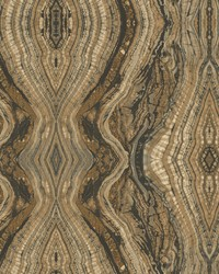 Kaleidoscope Wallpaper browns  greys  black by