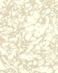 Marble Wallpaper cream  metallic platinum by