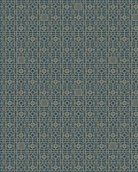 Deco Screen Wallpaper Blues by