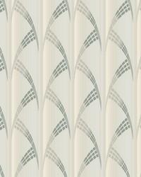 Metropolis Wallpaper White Off Whites by