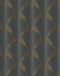 Metropolis Wallpaper Blacks by
