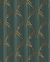 Metropolis Wallpaper Greens by