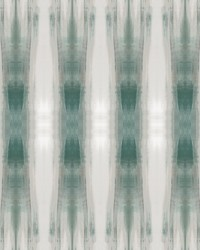 Beneath Textile Wallpaper Panels Green by