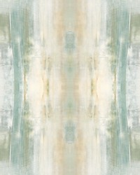 Tahoe Wallpaper Panels Green Yellow by