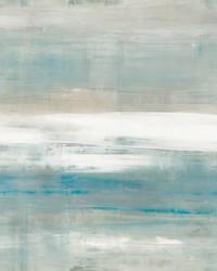 Beneath Horizon Wallpaper Panels Aqua by