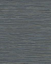 Ramie Weave Wallpaper Dark Blue by