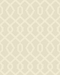 Luscious Wallpaper pearl cream silver metallic by