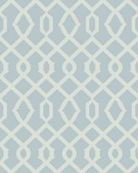 Luscious Wallpaper blue silver metallic by