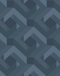 Network Wallpaper blue by