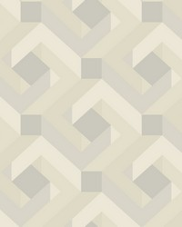 Network Wallpaper gray beige off white by