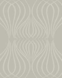 Eden Wallpaper metallic silver gray by