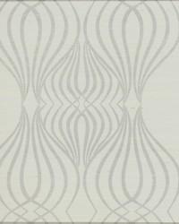 Eden Sisal Wallpaper gray white metallic by