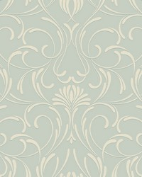 Amour Wallpaper blue white by
