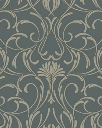 Amour Wallpaper black gray by