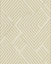 Perplexing Wallpaper - Cream Gold White Off Whites by