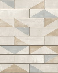 Underground Wallpaper - Neutral Beiges by
