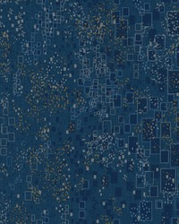 Gilded Confetti Wallpaper Navy by