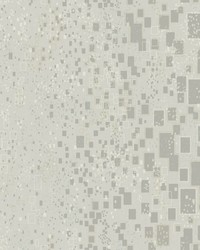 Gilded Confetti Wallpaper Silver Gray by