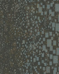 Gilded Confetti Wallpaper Charcoal by