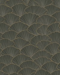 Luminous Ginkgo Wallpaper Gray by