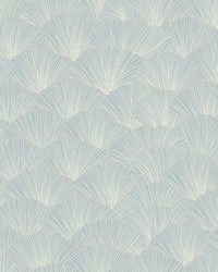 Luminous Ginkgo Wallpaper Blue by