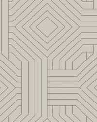 Diverging Diamonds Wallpaper Taupe by